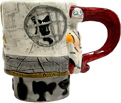 Nightmare Before Christmas Sally Figural Mug