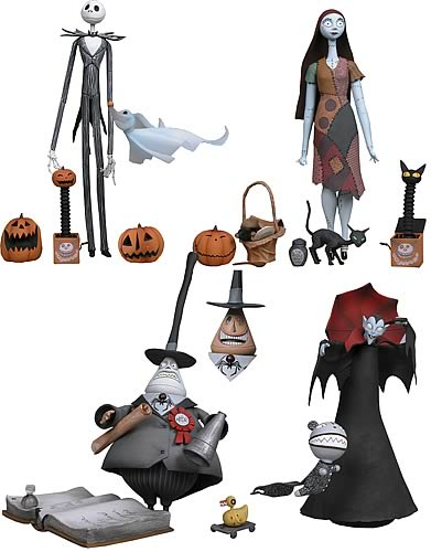 nightmare before christmas action figures - Nightmare Before Christmas Action Figures