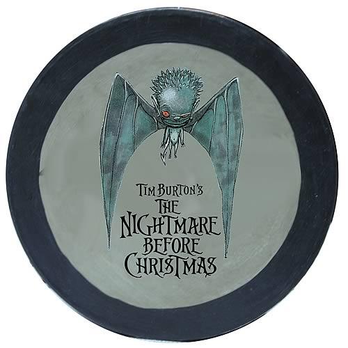 Nightmare Before Christmas Painted Round Bat Box
