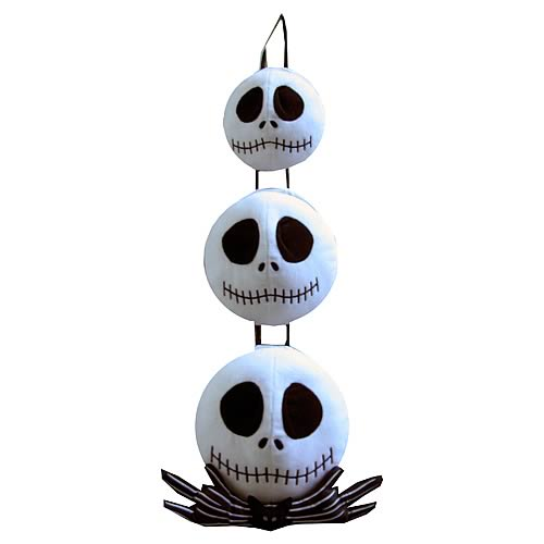 Nightmare Before Christmas Jack Triple Hanging Heads