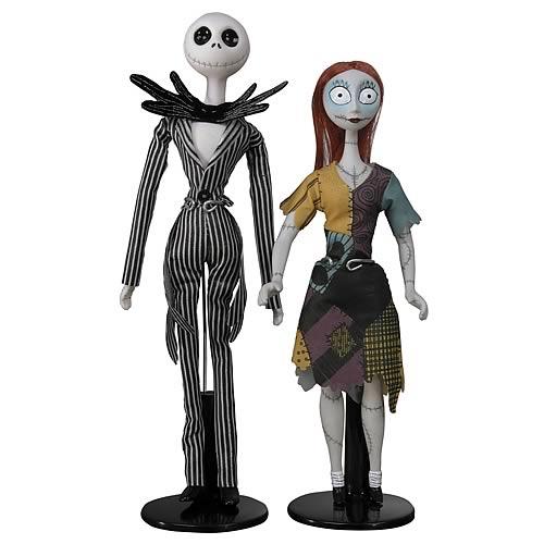 Nightmare Before Christmas Jack & Sally Porcelain Doll Set - NECA ...