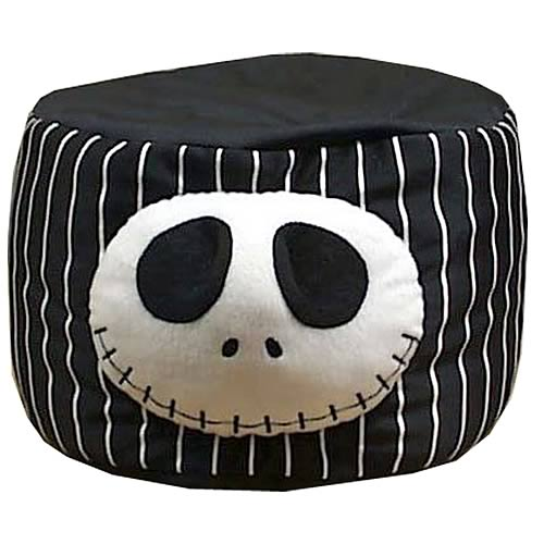 Nightmare Before Christmas Jack Cylinder Plush
