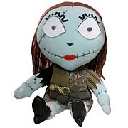 Plush > Nightmare Before Christmas - Who knew deformed dolls can look this cute!  This adorable Sally plush stands over 24-inches tall.  The doll features Sally with an extra large head with a smaller body.  This doll makes a great companion for any  Nightmare Before Christmas  fan.: Sizes