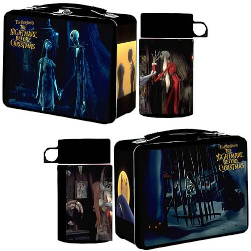 Nightmare Before Christmas Lunch Box with Thermos - NECA - Nightmare ...