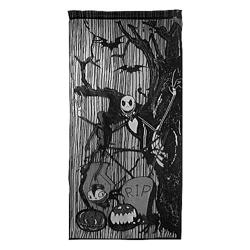 Nightmare Before Christmas Lace Wall Panel
