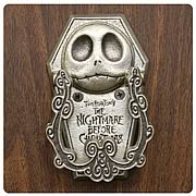 Nightmare Before Christmas Jack Bite Pewter Door Knocker