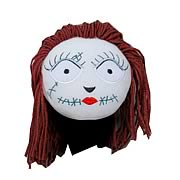 Nightmare Before Christmas 19-Inch Sally Head Plush