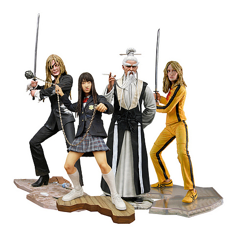 Kill Bill Best of Action Figure Case