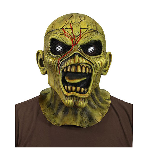Iron Maiden Piece of Mind Eddie Mask