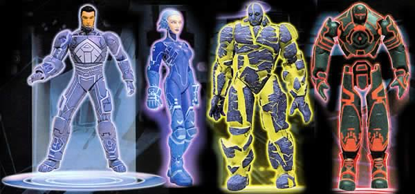 Tron 2.0 Action Figure Set