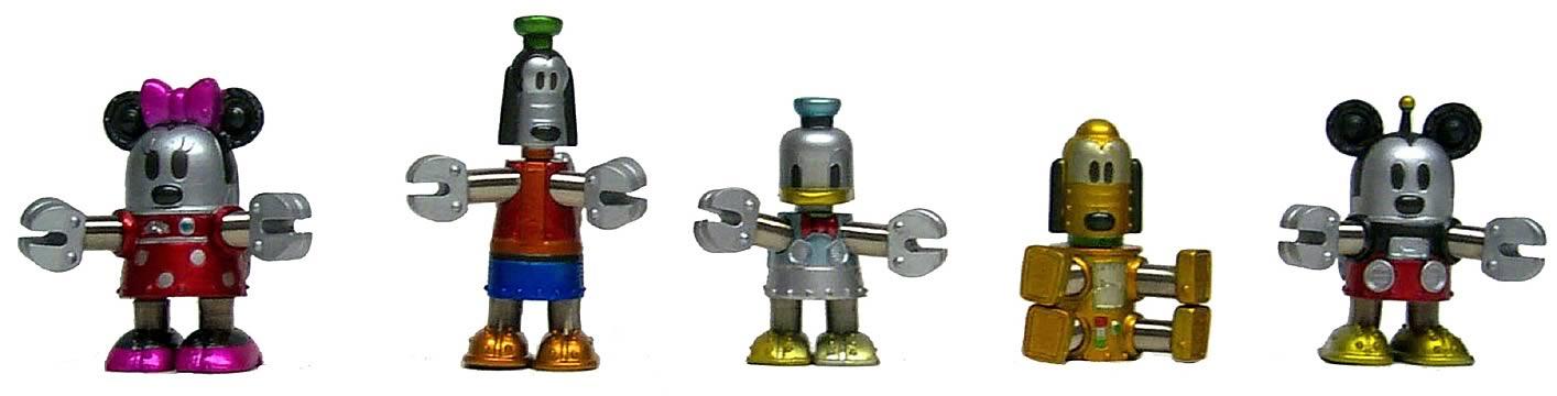 Disney Robots 2-inch Set
