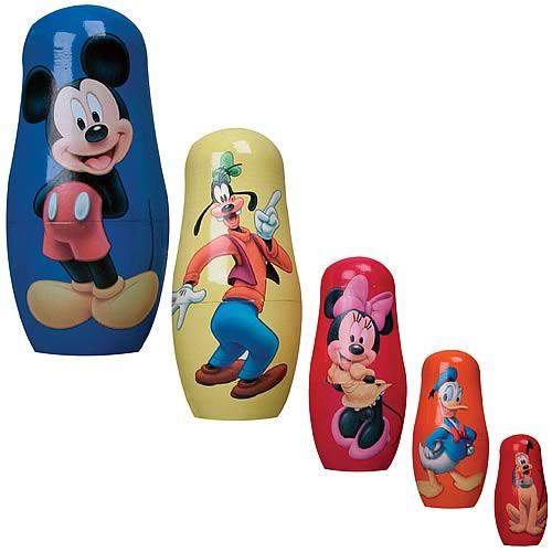 Disney Nesting Dolls Set