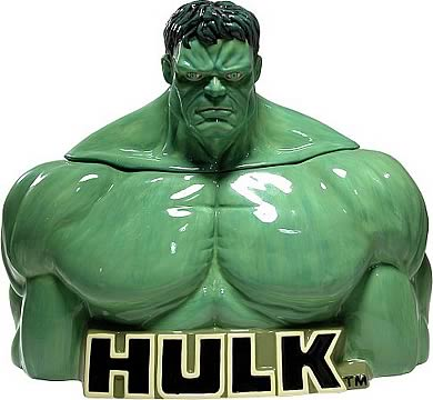 Hulk Ceramic Cookie Jar