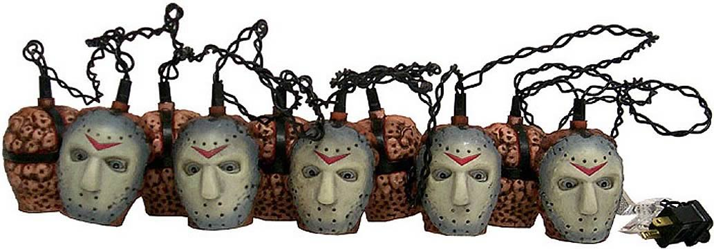 Jason Voorhees Holiday Lights