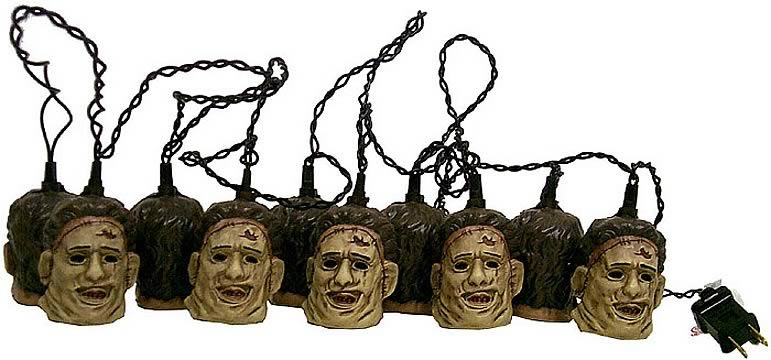 Leatherface Holiday Lights