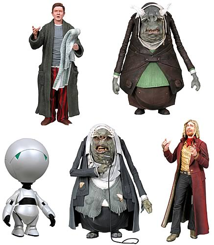 Hitchhiker`s Guide Action Figure 7-inch Case