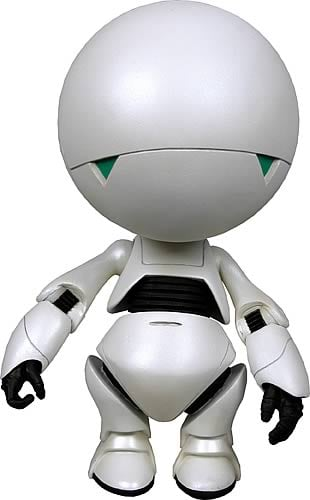 Hitchhiker`s Guide Marvin 10-inch Figure