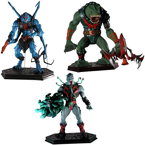 Masters of the Universe Mini Statues Series 4 Set
