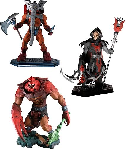 Masters of the Universe Mini Statue Series 1 Set