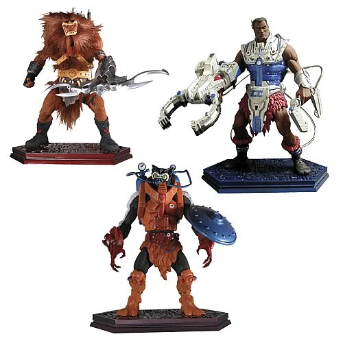Masters of the Universe Mini Statue Series 2 Set