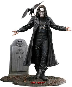 The Crow 15-inch Statue