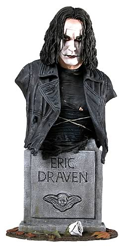 The Crow 8-inch Mini Bust