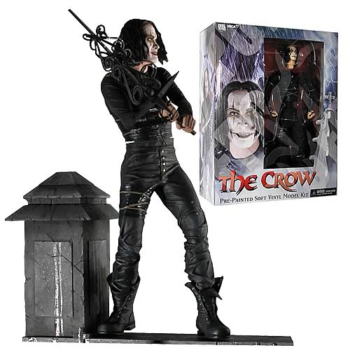 The Crow Pre-Painted Vinyl Model Kit