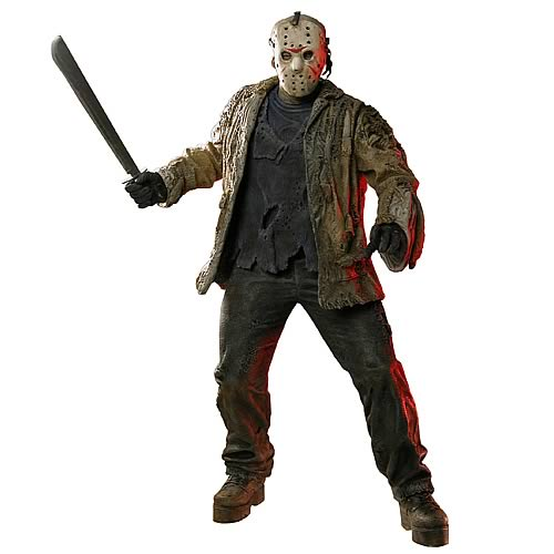 Freddy vs. Jason 19-Inch Jason Voorhees Figure, Not Mint