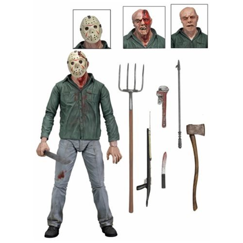 Jason Toys For Boys : Friday the th jason ultimate inch scale action figure