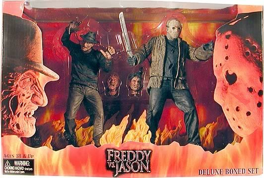 Freddy vs. Jason Figure Deluxe Boxed Set