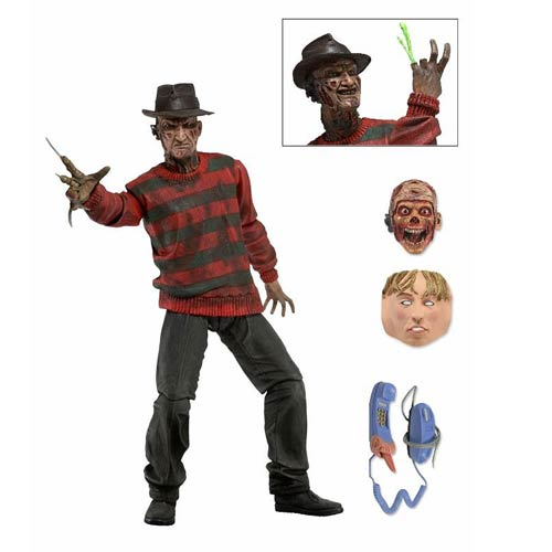 Nightmare on Elm Street Ultimate Freddy Action Figure