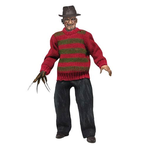 Nightmare on Elm Street Freddy Krueger 8-Inch Retro Figure