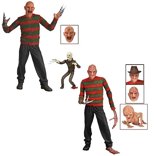 Nightmare on Elm Street Series 3 Action Figure Set