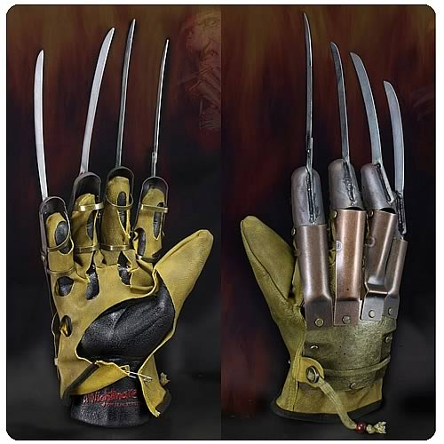 Nightmare on Elm Street (1984) Freddy Krueger Glove Replica