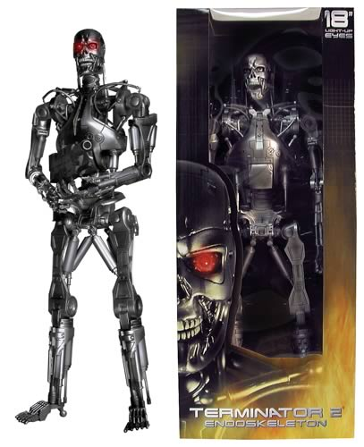 Terminator T-800 18-inch Action Figure, Not Mint