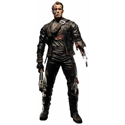 Terminator 2 Judgment Day T-800 Final Battle 12-Inch Figure