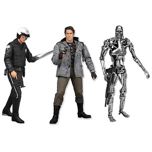 Terminator Collection Action Figure Series 1 Case