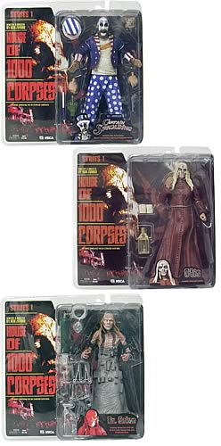 House of 1,000 Corpses Series 1 Figure Case