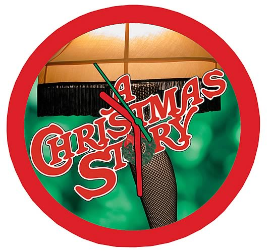 Christmas Story Wall Clock