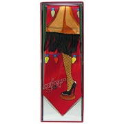 Christmas Story Red String Lights Neck Tie
