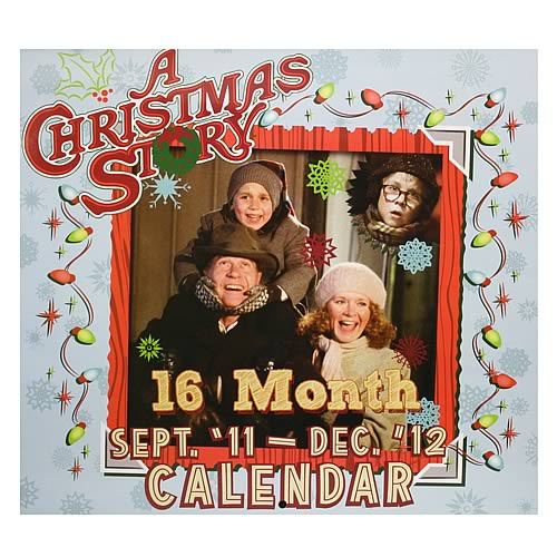 A Christmas Story 2012 16 Month Wall Calendar