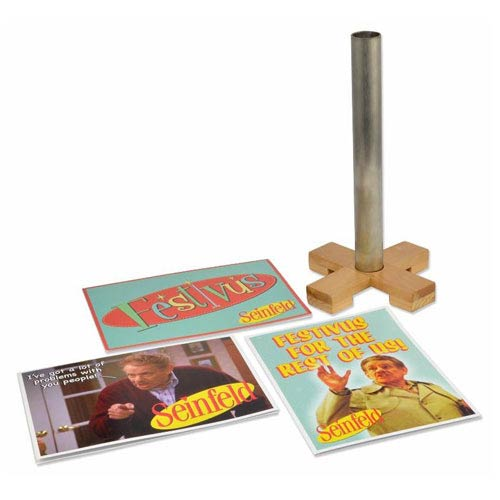 Seinfeld Festivus 9-Inch Pole and Gift Card Set