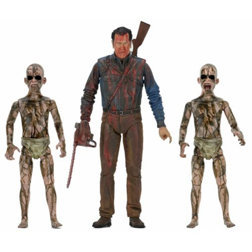 Ash vs. Evil Dead Bloody Ash vs. Demon Spawn 3-Pack