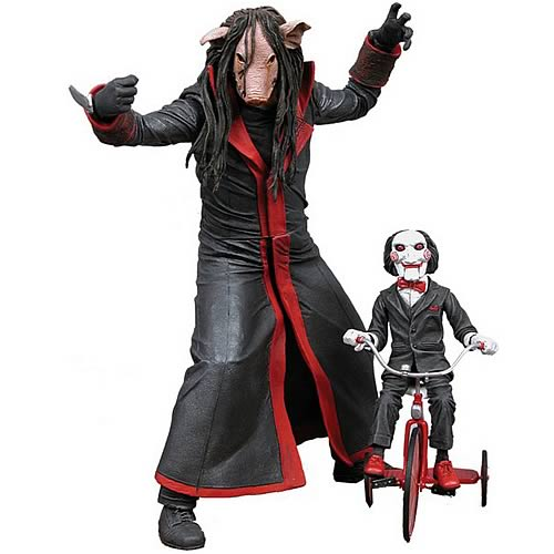 Cult Classics Series 5 Jigsaw Killer With Mask Action