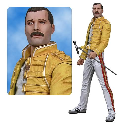 Freddie Mercury of Queen 18-Inch Electronic Action Figure