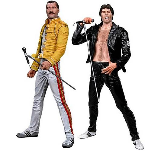 Freddie Mercury 7-Inch Action Figure Case