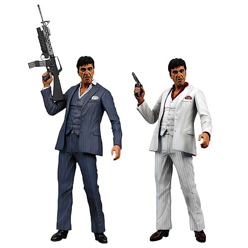 Scarface Tony Montana 7-Inch Action Figure Set