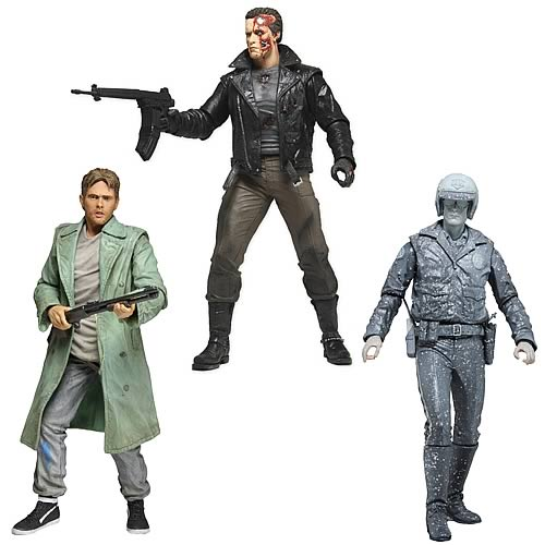 Terminator Collection 7-Inch Series 3 Action Figure Set
