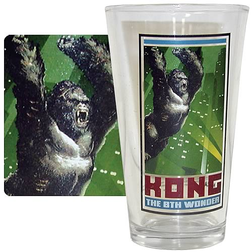 King Kong 8th Wonder Pint Glass
