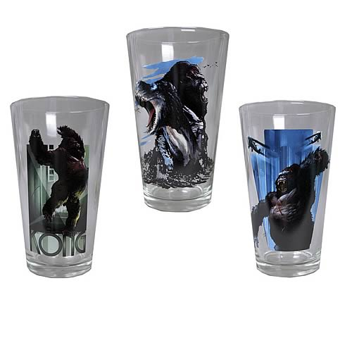 King Kong Pint Glass 3-Pack